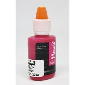 Пигмент краска Peach 9746 Персиковый Maser для татуажа