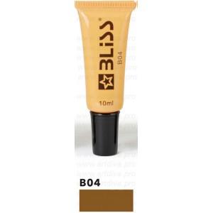 Пигмент Bliss Блисс B04 Warm Brown Теплый коричневый для татуажа бровей