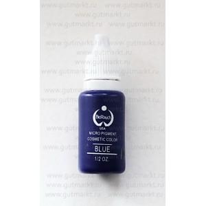 Пигмент Blue Синий Biotouch для перманентного макияжа татуажа глаз