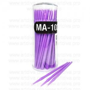 Микробраши микрощетка Purple для татуажа микроблейдинга маникюра