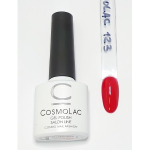 Cosmolac гель-лак №123 Страстный поцелуй
