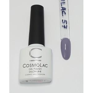 Cosmolac гель-лак №57 Серый лед