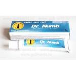 Анестетик для татуажа и татуировок Dr. Numb 10г синий