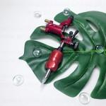 Машинка роторная Dragonfly Red Стрекоза для татуажа и татуировок