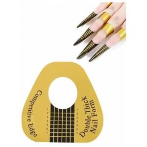 Бумажные формы для наращивания ногтей 500 штук