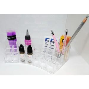 Подставка органайзер для бутылочек флаконов и материалов