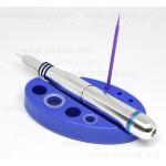 Подставка силиконовая синяя для машинки и колпачков
