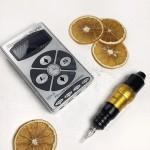 Набор с блоком Хурикан машинка роторная H-star pen для татуажа и татуировок