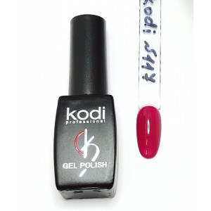 Kodi №117 ягодно- красный гель-лак 8 мл