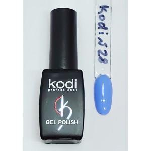 Kodi №28 небесно- голубой гель-лак 8 мл