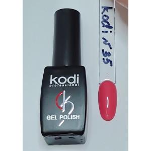 Kodi №35 светло- коралловый гель-лак 8 мл
