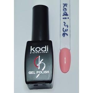 Kodi №36 бледно- розовый гель-лак 8 мл