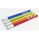 Ручка металлическая легкая манпула для микроблейдинга золотистая