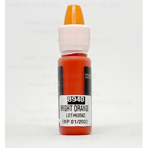 Пигмент корректор Ярко Оранжевый Bright Orange 8940 Maser для татуажа