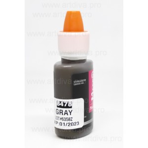 Пигмент краска Maser Grey Графит 8478 Maser для татуажа