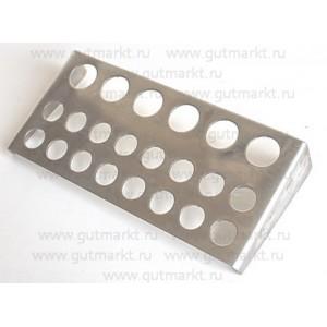 Подставка палитра для колпачков с пигментом для татуажа 21 ячейка