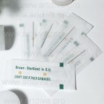 Игла для татуажа 1R liner 0,35 мм для машинок Goochie, Sunshine