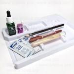 Пластиковая подставка для карандашей и других материалов для татуажа