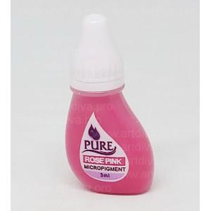 Пигмент кремовый губной Rose Pink для перманентного татуажа Pure Line