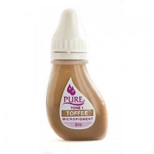 Пигмент Toffee для перманентного макияжа бровей Pure Line Biotouch