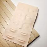 Коврик тренировочный для практики татуажа и микроблейдинга 3D брови веки губы