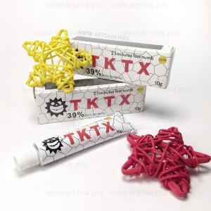 Анестетик крем обезболивающий для татуажа и микроблейдинга TKTX 39