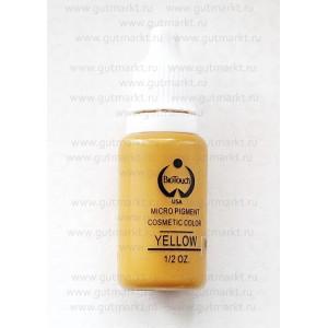 Пигмент Yellow Желтый корректор Biotouch для перманентного татуажа